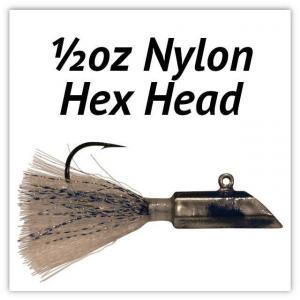 ½oz Nylon Hex Head