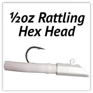 ½oz Rattling Hex Head