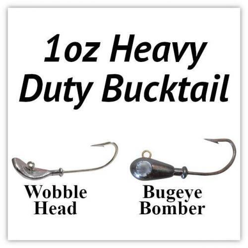 1oz Heavy Duty Bucktail
