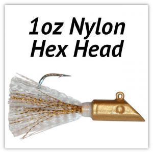 1oz Nylon Hex Head
