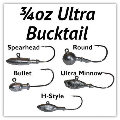 3/4oz Ultra Bucktail