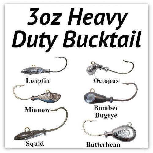 3oz Heavy Duty Bucktail