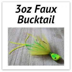 3oz Faux Bucktail