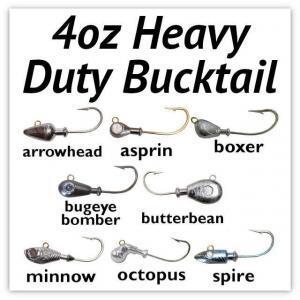 4oz Heavy Duty Bucktail