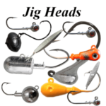 Saltwater Jig Heads and Freshwater Jig Heads