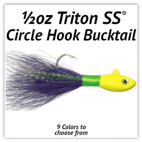 1/2oz Circle Hook Bucktail