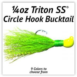 1/4oz Circle Hook Bucktail