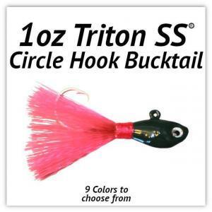 1oz Circle Hook Bucktail
