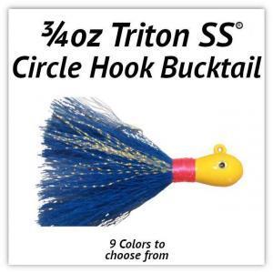 3/4oz Circle Hook Bucktail