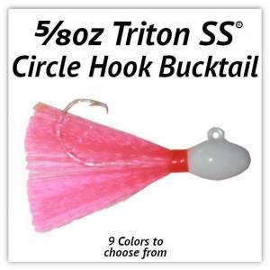 5/8oz Circle Hook Bucktail