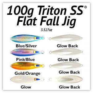100g Flat Fall Jig