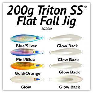 200g Flat Fall Jig