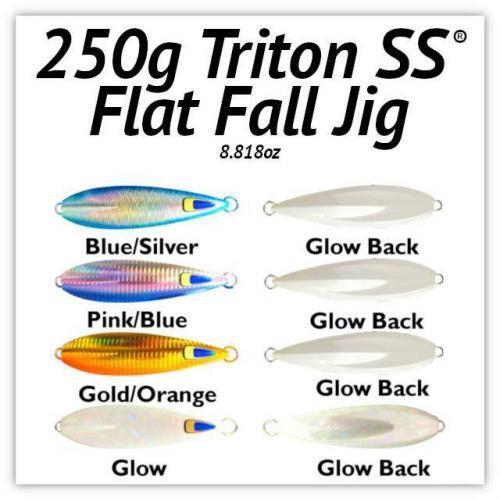 250g Flat Fall Jig