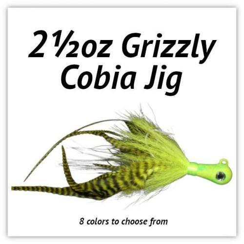 2½oz Grizzly Cobia JIg