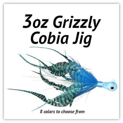 3oz Grizzly Cobia JIg