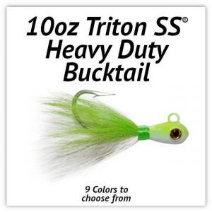 Triton SS® HD Bucktail 10oz
