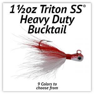 Triton SS® HD Bucktail 1½oz