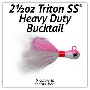 Triton SS® HD Bucktail 2½oz