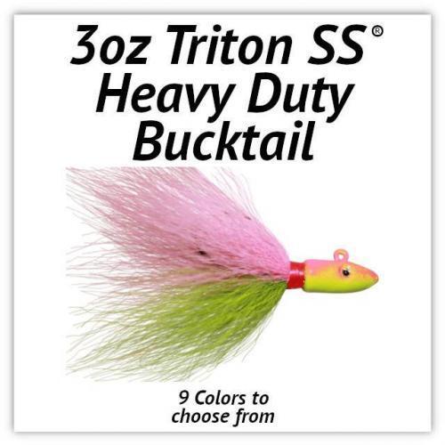 Triton SS® HD Bucktail 3oz