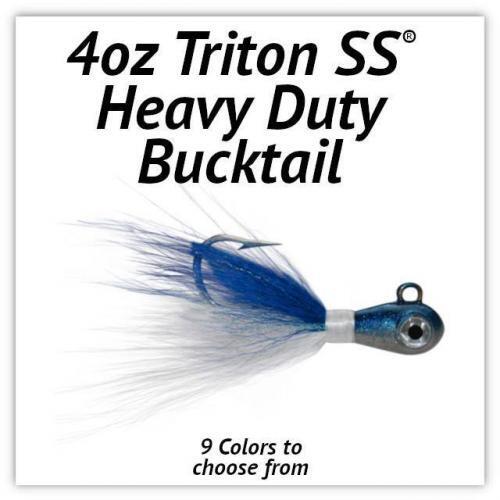 Triton SS® HD Bucktail 4oz