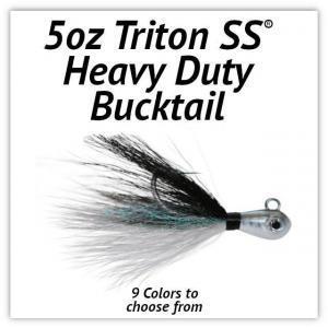 Triton SS® HD Bucktail 5oz