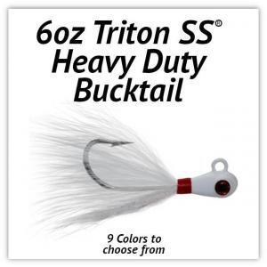 Triton SS® HD Bucktail 6oz