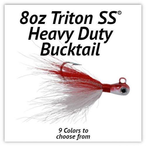 Triton SS® HD Bucktail 8oz