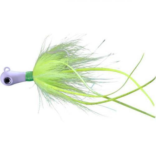 Chartreuse Lightning Cobia Jig