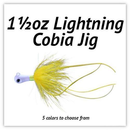 1½oz Lightning Cobia JIg