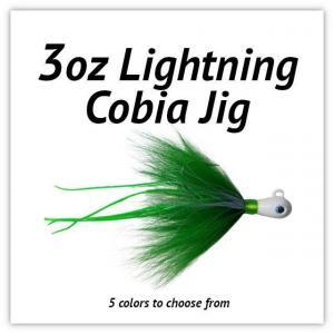 3oz Lightning Cobia JIg