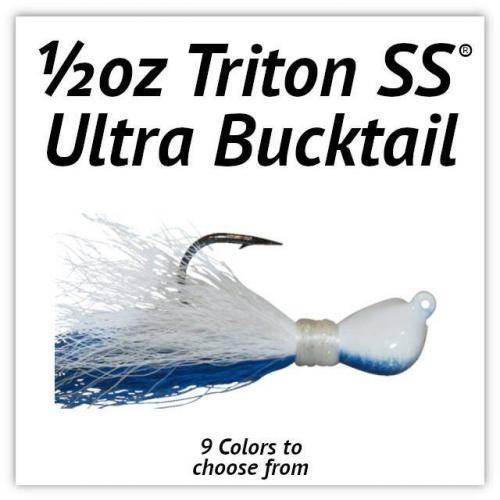 1/2oz Triton SS® Ultra Bucktail