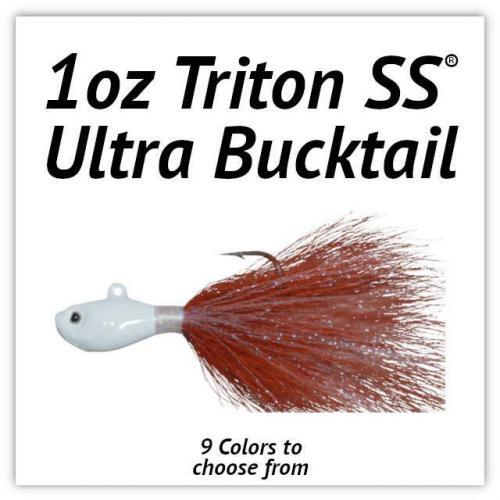 1oz Triton SS® Ultra Bucktail