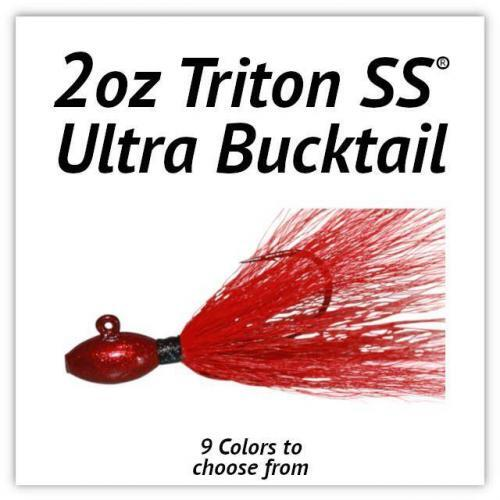 2oz Triton SS® Ultra Bucktail
