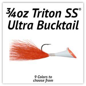 3/4oz Triton SS® Ultra Bucktail