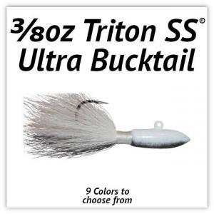3/8oz Triton SS® Ultra Bucktail