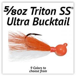 5/8oz Triton SS® Ultra Bucktail