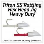 Triton SS® Heavy Duty Hex Head Jig