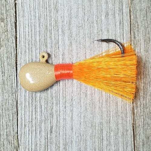 Pompano Jig sand/orange/orange