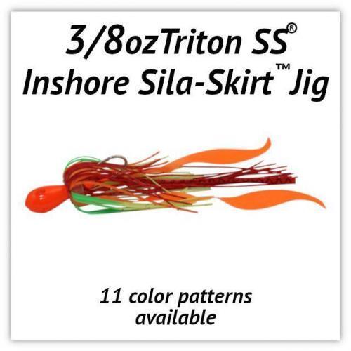 3/8oz Sila-Skirt™ Jigs