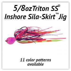 5/8oz Sila-Skirt™ Jigs