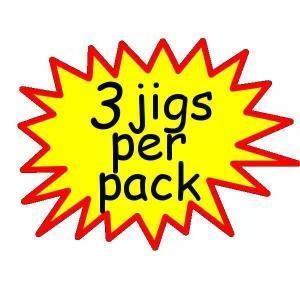 3 Jigs Per Pack