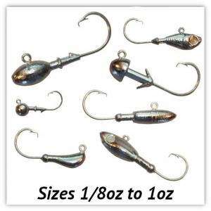 Circle Hook Jig Heads