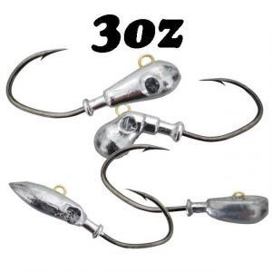 3oz Intimidator™ Jig Heads