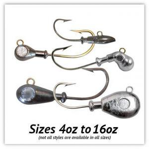 Large Saltwater Jig Heads