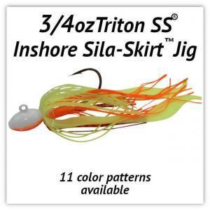 ¾oz Sila-Skirt® Jigs