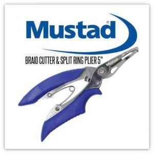 Mustad Braid Cutter & Split Ring Pliers