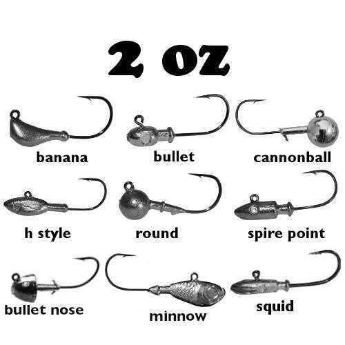 2oz Ultra Point Jig Heads