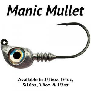 Manic Mullet Jig Heads