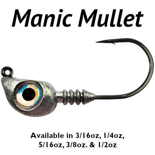 Manic Mullet Jig Heads