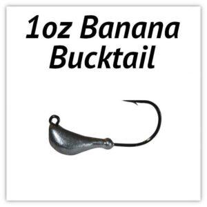 1oz Banana Bucktail